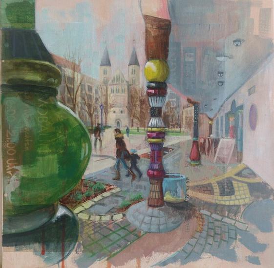 Grandes Ciudades - Hundertwasser-haus, Kunstmuseum Kloster, Magdeburg Alemania