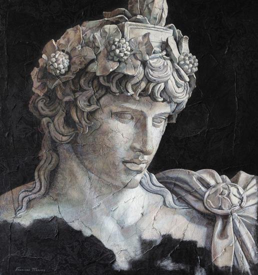 ALEGORIA Figure Painting Oil Panel