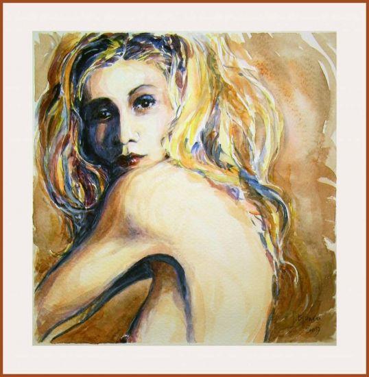 Mujer arco-iris