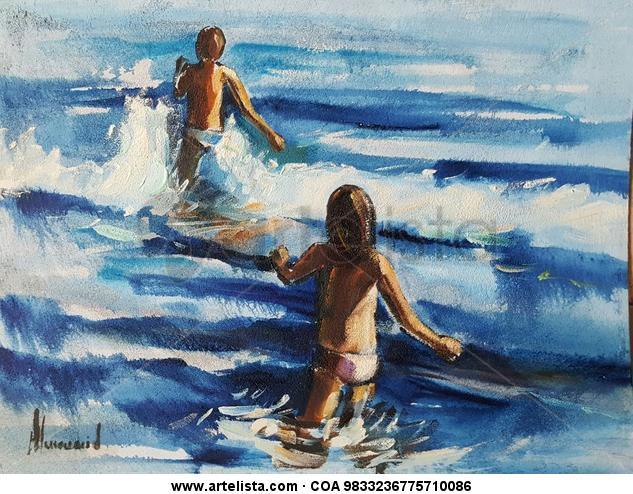 Juegos de verano Otros Óleo Marina