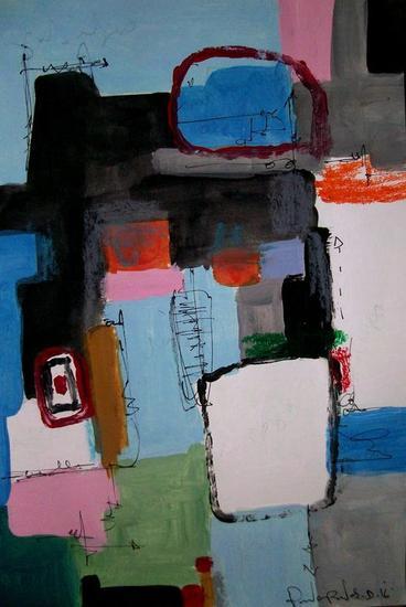 Abstract # 101 paper collection Otros Papel Acrílico