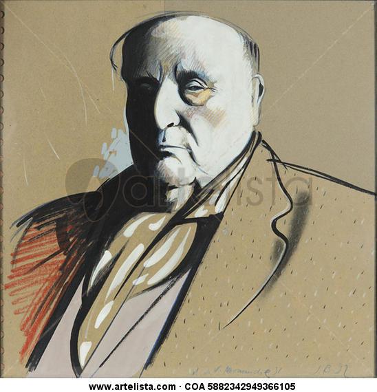 Maurice de Vlamink - Normandie en el 51 (9)  Retrato Media Mixta Otros