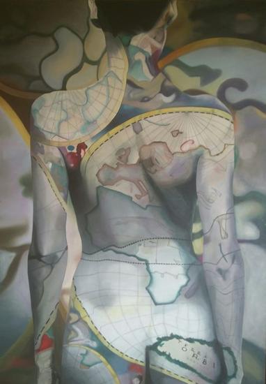 Terra Orbis Lienzo Óleo Figura