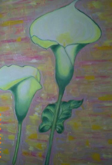 Flores ll Lienzo Óleo Floral