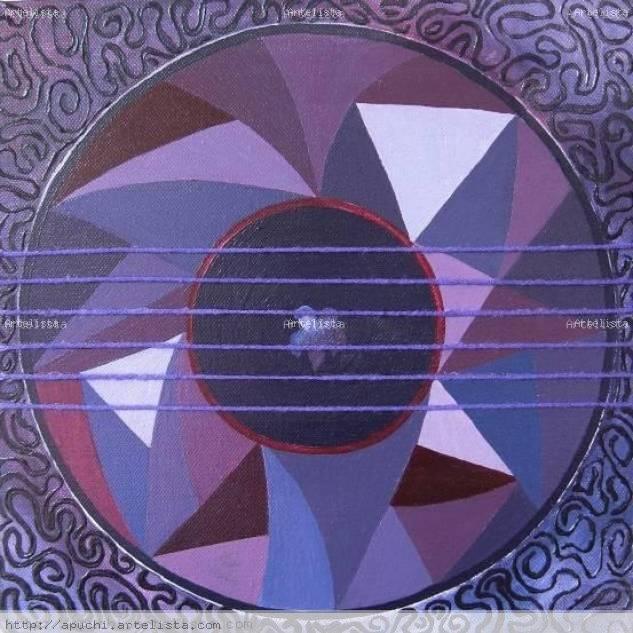 Mandala Violeta  - Yang Lienzo Media Mixta Otros