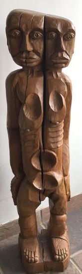 Roble viejo Figurative Wood