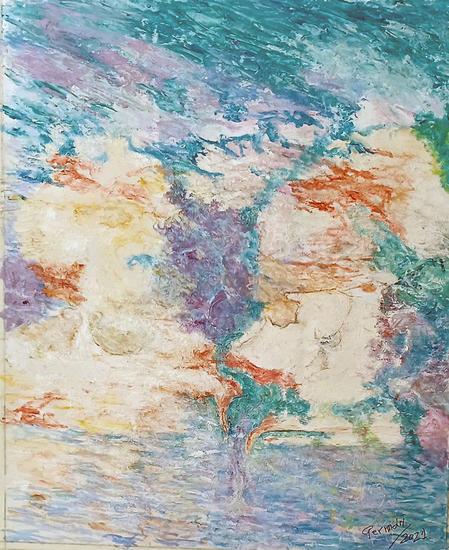 abstracto-marina 1 Otros Óleo Lienzo