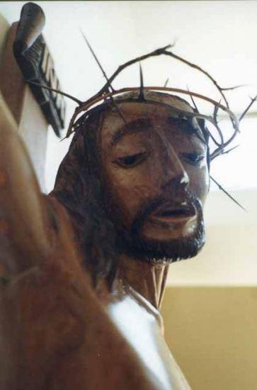 CRISTO CRUCIFICADO rostro Madera Figurativa