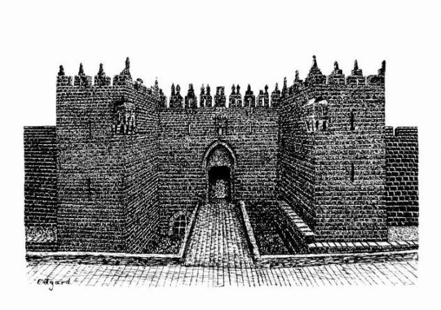 DAMASCUS GATE(JERUSALEM) Tinta