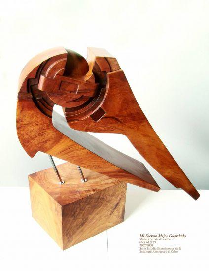 Mi secreto mejor guardado Wood Abstract