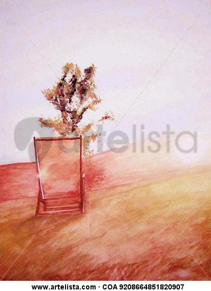 verano l Paper Watercolour Landscaping