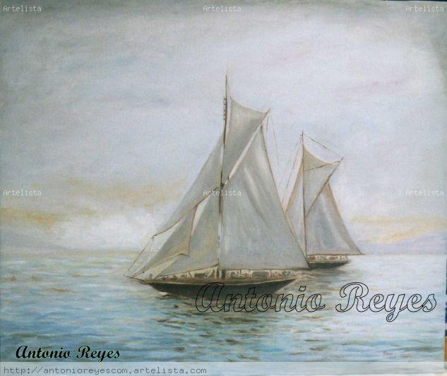 marina I Óleo Lienzo Marina