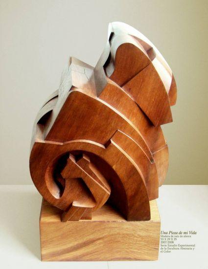 Una Pieza de mi Vida Wood Abstract