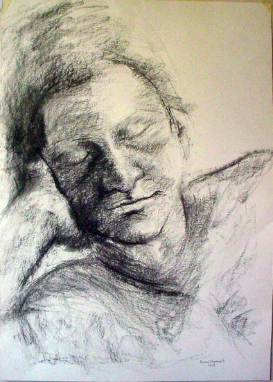 023-Retrato rodri Charcoal