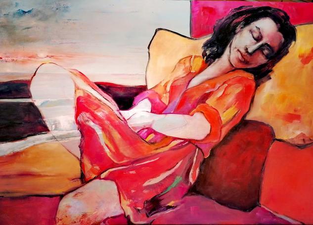SUEÑOS PERDIDOS / LOST DREAMS Figure Painting Oil Canvas