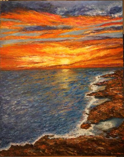 Roquedo Canvas Oil Marine Painting
