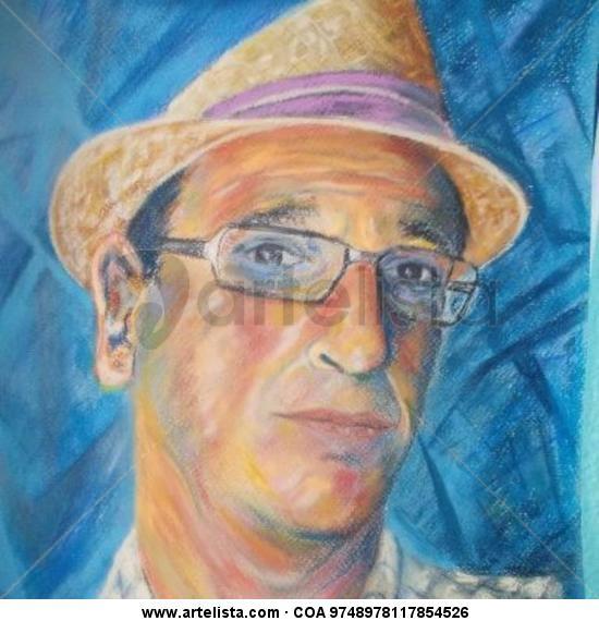 autorretrato nº2 Cartulina Pastel Retrato