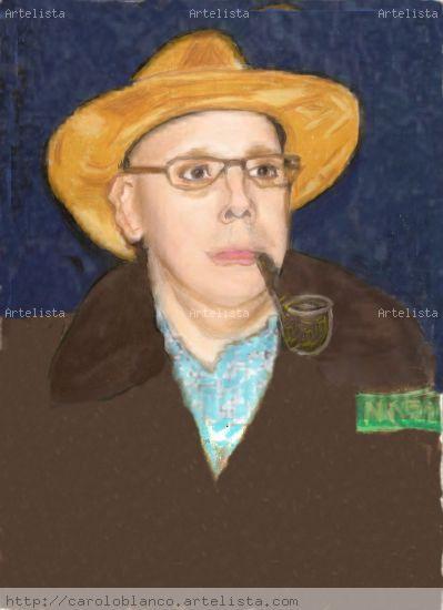 Ricardo G Silveira Definitivo Papel Pastel Retrato
