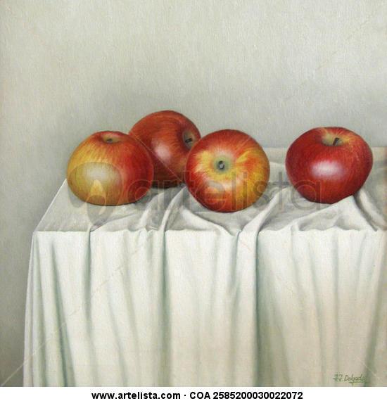 bodegón de manzanas-4