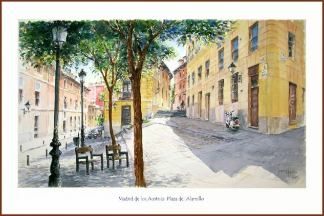 Viejo Madrid: Plaza del Alamillo