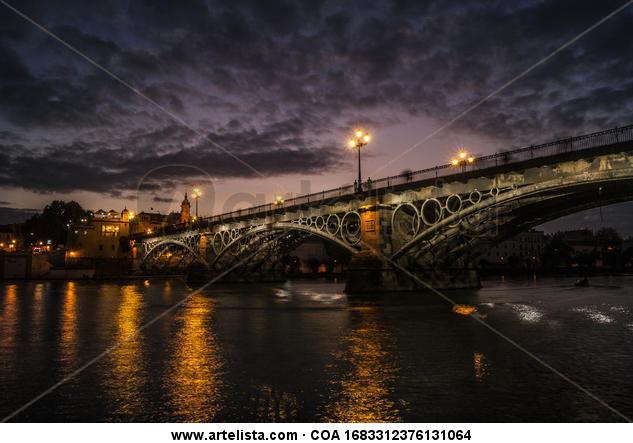 Puente de triana Color (Digital) Travel