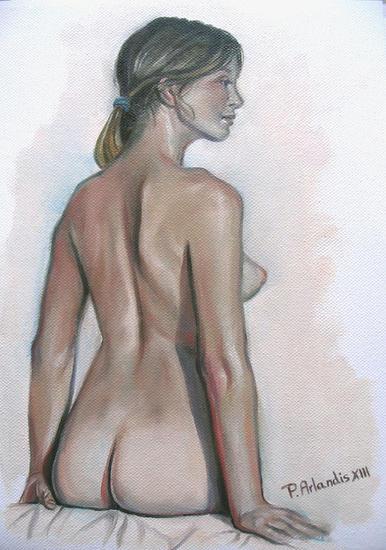 Desnudo A4 10 Desnudos Óleo Tela