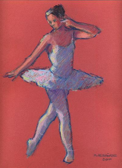 Bailarina Papel Figura Pastel