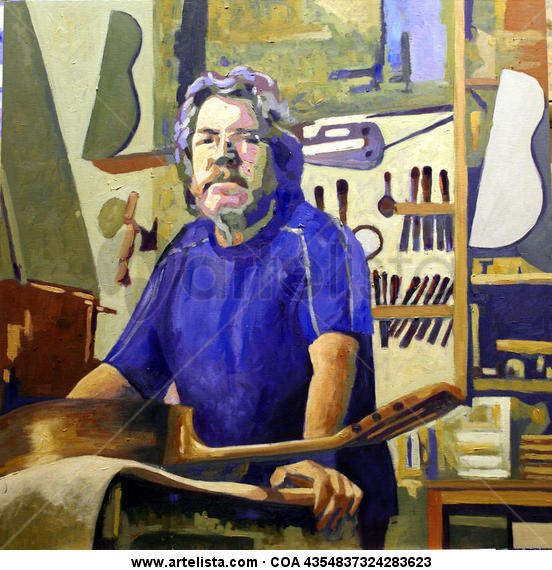 jose. luthier de espoz y mina