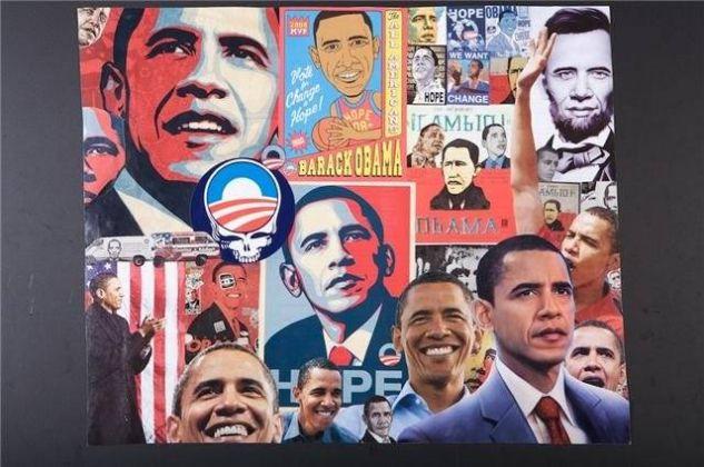 obama Card Portrait