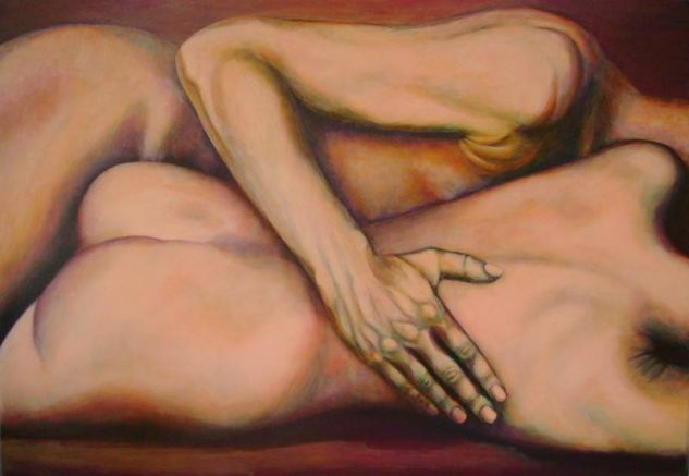 Acalento Acrylic Canvas Nude Paintings