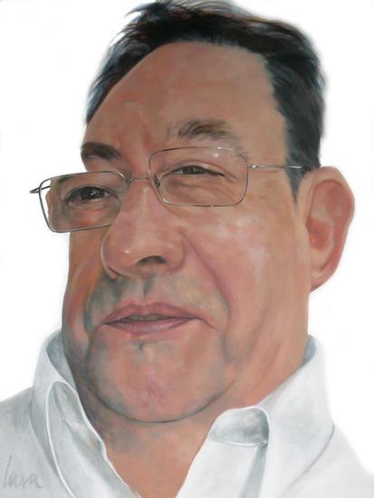 ENRIQUE Retrato Acrílico Lienzo