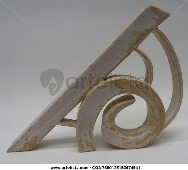 Espiral Cerámica Abstracta
