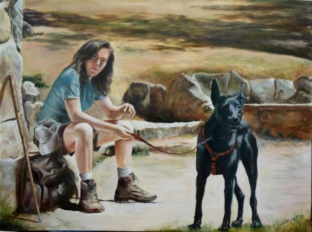 Camino de santiago con mi perro carlos javier seligrat for Affitti cabina michigan con camino