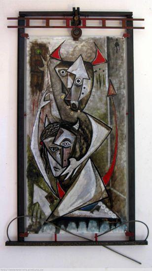 la tercera opcion Oil Others Figure Painting