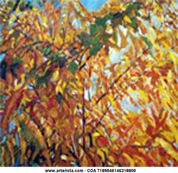 Otoño Dorado Landscaping Canvas Others