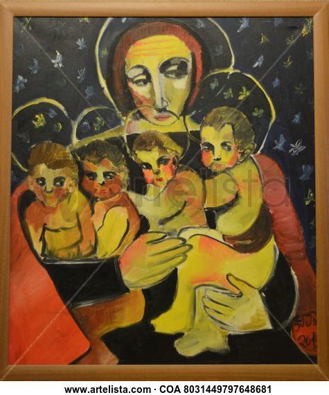 Virgin Otros Óleo Lienzo