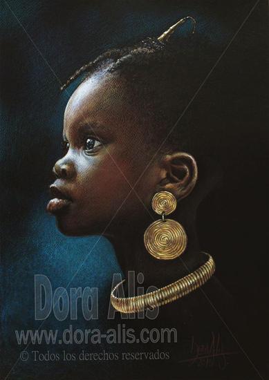 niña de africa n.91