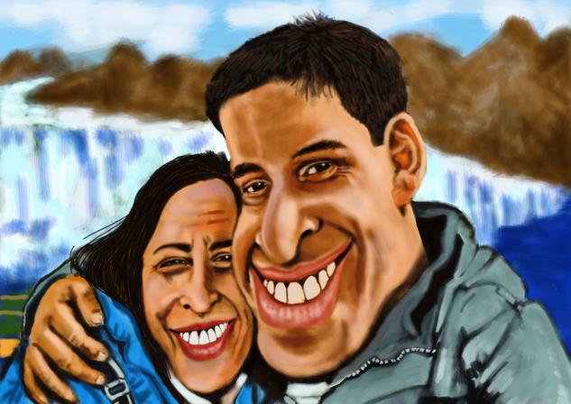 Darío y Verónica