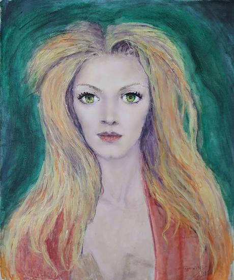 retrato Retrato Acrílico Lienzo