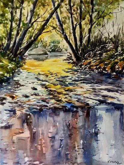 Color y reflejos Landscaping Watercolour Paper