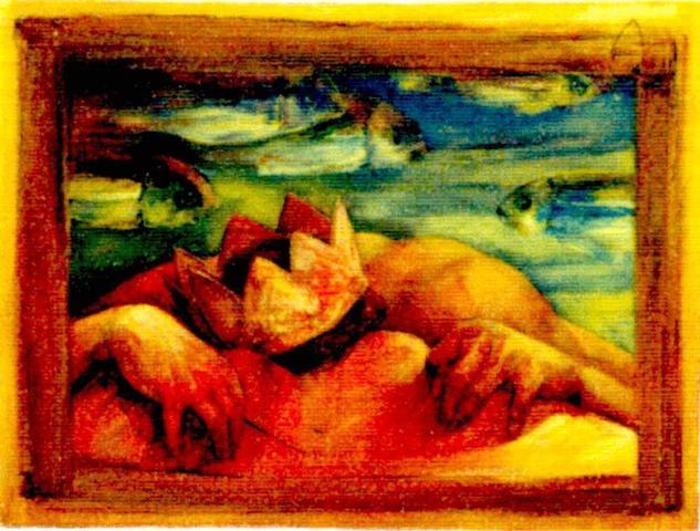 Cosas De Naufragos Marine Painting Oil Canvas