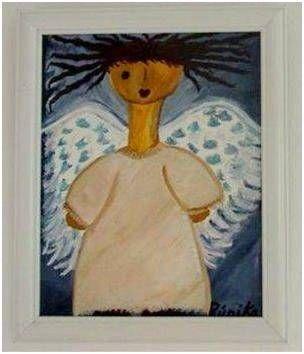 The Falling Angel Wood Figurative