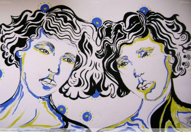 madres en azul