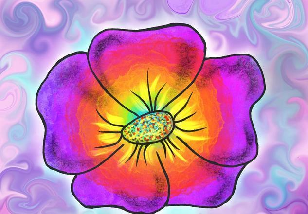 Flor colores vivos  Otros
