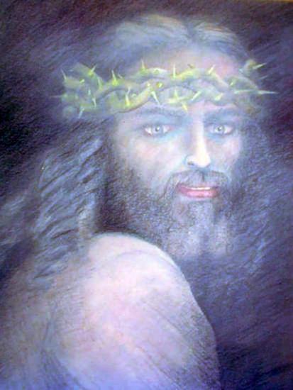 Cristo Lienzo Óleo Figura