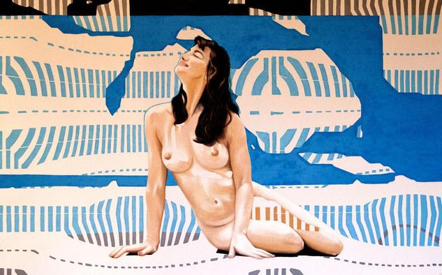 La tentación de Ulises Lienzo Óleo Desnudos