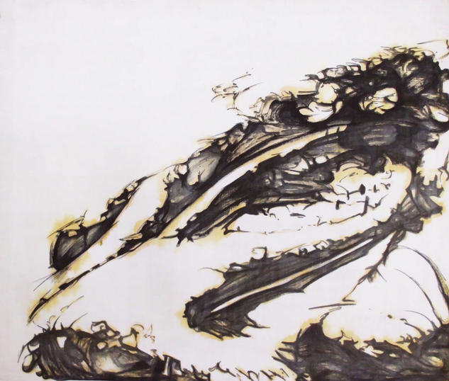 Pelicano Otros Tinta Lienzo