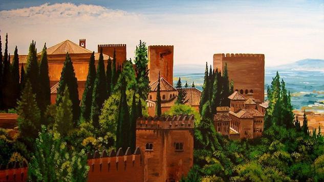 La Alhambra #2 Tabla Otros Paisaje