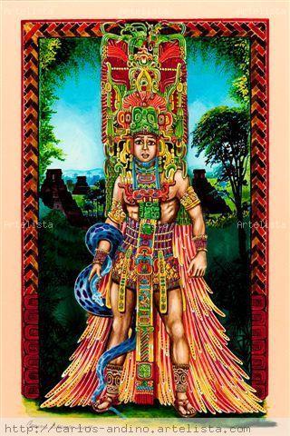 Collection Cultura Maya of Carlos Andino 1 - Artelista.com