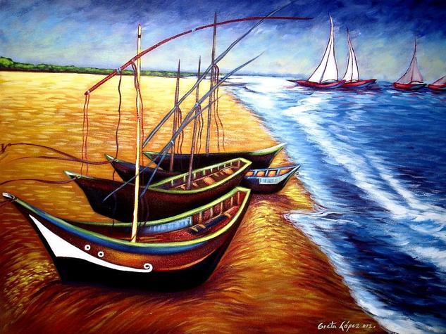 Marina Canvas Acrylic Others